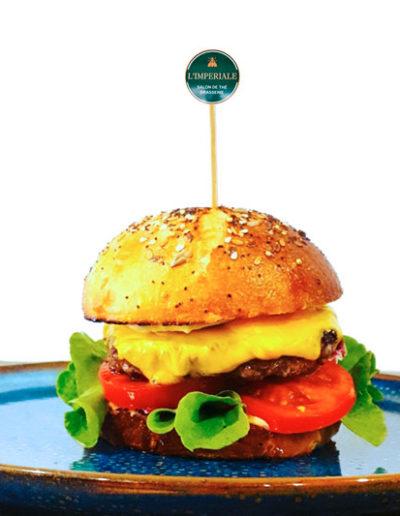 Cheese Burger Brasserie L'Imperiale Ajaccio