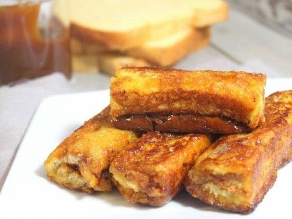 Pain perdu caramel beurre salé Brasserie L'Imperiale Ajaccio
