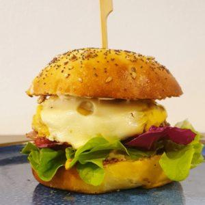 Burger 3 fromages Brasserie L'Imperiale Ajaccio