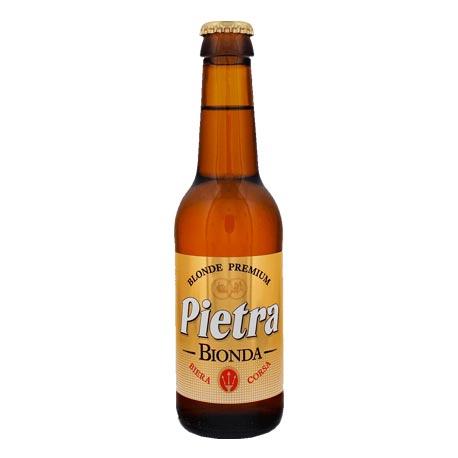 Bière corse Pietra blonde 25cl Brasserie L'Imperiale Ajaccio