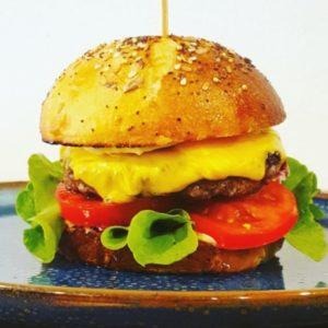 cheeseburger Brasserie L'Imperiale Ajaccio