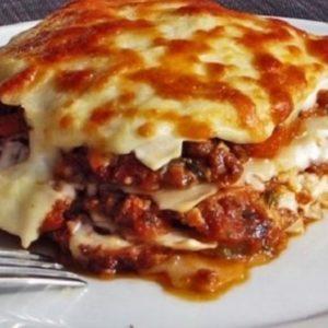 lasagnes de boeuf Brasserie L'Imperiale Ajaccio