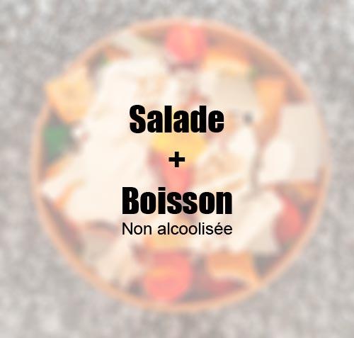 Formule salade / boisson à 11€